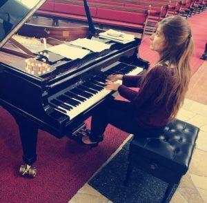 Maroussia Gentet en concert à Moscou