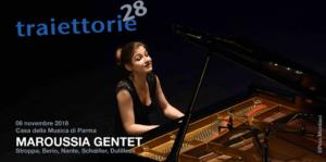 Maroussia Gentet au Festival Traiettorie 2018