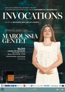 Concert of Maroussia Gentet in Blois