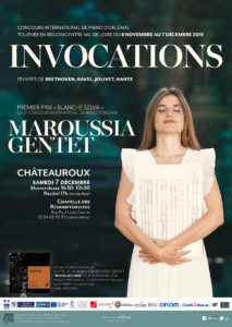 Master-class of Maroussia Gentet in Châteauroux