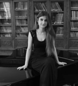 Recital of Maroussia Gentet at Studio Stephen Paulello