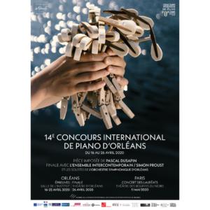 ANNULÉ – 14e Concours international de piano d'Orléans 2020