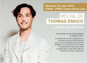 Matinée du piano – Thomas Enhco, France
