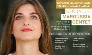 Matinées du piano : Maroussia Gentet, France