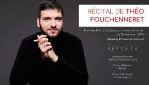 Matinées du piano postponed to Feb. 21st, 2021 — Théo Fouchenneret, France