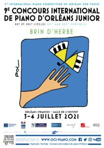 """9th International piano competition of Orléans for youth """"Brin d'herbe"""""""