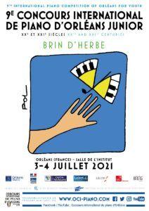 Concert des lauréats et du Jury du 9e Concours international de piano d'Orléans junior 'Brin d'herbe'